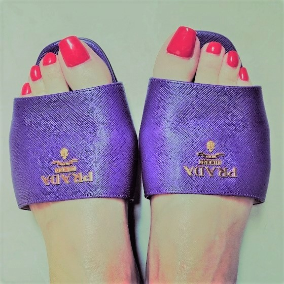 dubai mistress dinah slippers prada