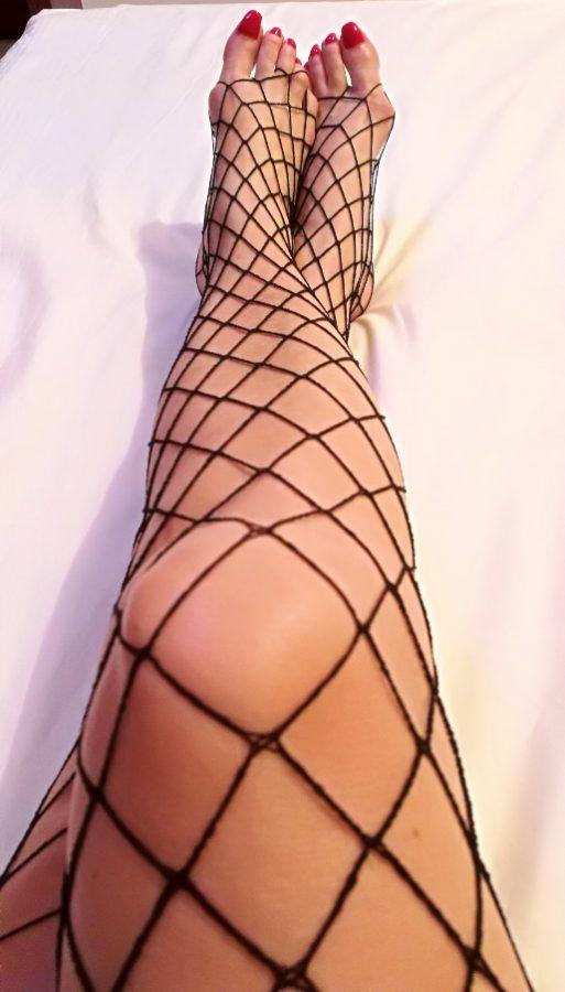 mistress dubai fishnet legs